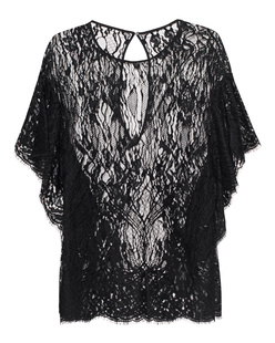 IRO Lace Transparent Black