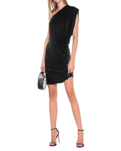 IRO Shiny Asymmetrical Black