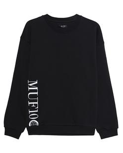 MUF10 Kriss Kross Sweater Black