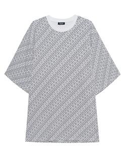 MUF10 Monogram Oversized White