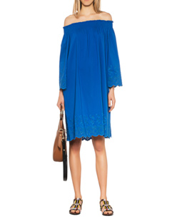 STEFFEN SCHRAUT Off Shoulder Blue