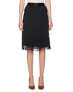 STEFFEN SCHRAUT Fringes Skirt Black