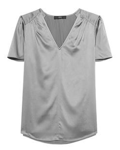 STEFFEN SCHRAUT Silk Top Grey