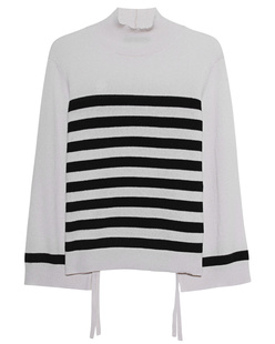 STEFFEN SCHRAUT Knit Stripes Off-White