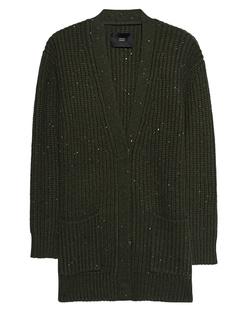 STEFFEN SCHRAUT Knit Jacket Sequins Olive