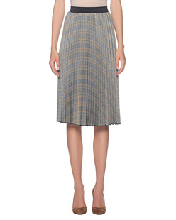 STEFFEN SCHRAUT Pleated Skirt Check Multicolor