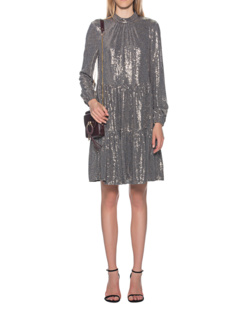 STEFFEN SCHRAUT All-Over Sequin Dress Gold