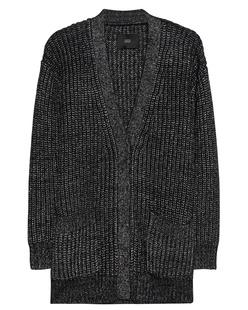 STEFFEN SCHRAUT Metallic Cardigan Black