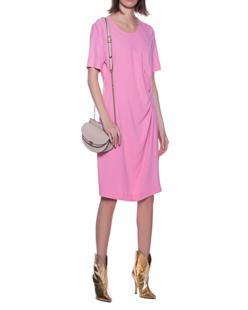 STEFFEN SCHRAUT Gathers Short Sleeve Pink
