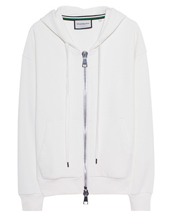 ROQA Hoodie Zip Off White