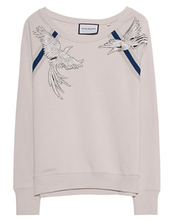 ROQA Sweater Birds Beige