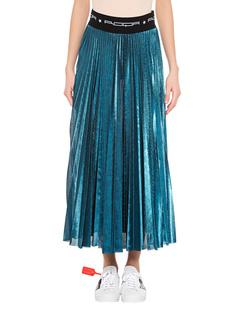 ROQA Plisee Skirt Turquoise