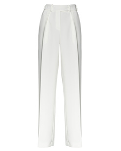 ALEXANDRE VAUTHIER Pleat Stripe Off-White