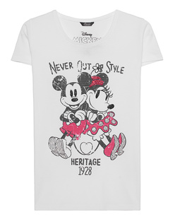 PRINCESS GOES HOLLYWOOD Mickey Minnie White
