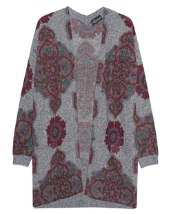 PRINCESS GOES HOLLYWOOD Deco Print Cardigan Grey