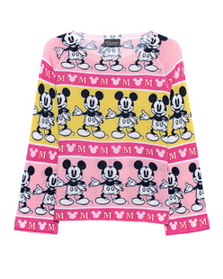 PRINCESS GOES HOLLYWOOD Mickey Stripes Multicolor