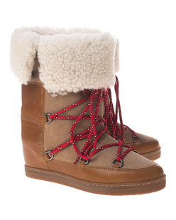 Isabel Marant Étoile Nowly Shearling Beige