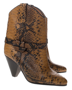 Isabel Marant Étoile Deane Exotic Colorado Snake Yellow