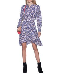 Isabel Marant Étoile Yandra Dress Multicolor