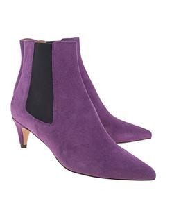 Isabel Marant Étoile Detty Classic Suede Purple