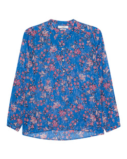 Isabel Marant Étoile Maria Printed Cotton Blue