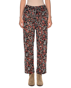 Isabel Marant Étoile Enoa Black Printed Cotton Multicolor