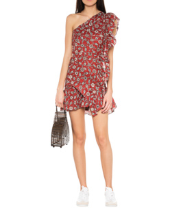 Isabel Marant Étoile Teller One-shoulder Rust Red