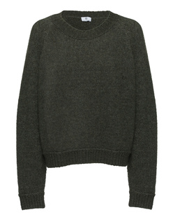 AG Jeans Crew Neck Wool Olive