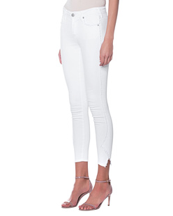 TRUE RELIGION Jennie Curvy Skinny Optic White
