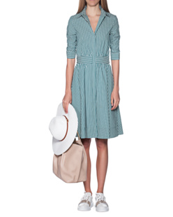 STEFFEN SCHRAUT Stripes Dress Green