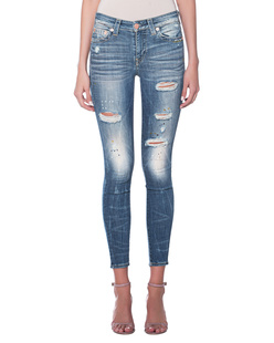 TRUE RELIGION Jennie Curvy Skinny Battalion Blue