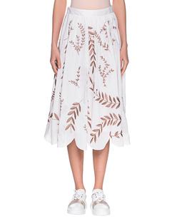 STEFFEN SCHRAUT Flower Embroidery Off-White