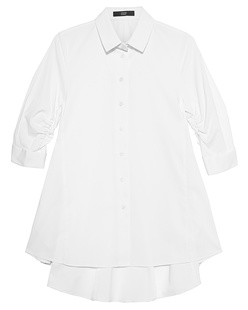 STEFFEN SCHRAUT Peplum Collar Button White