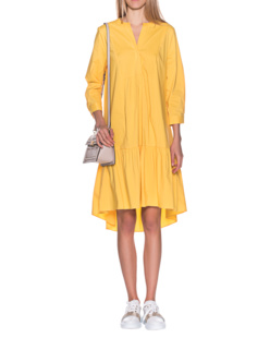 STEFFEN SCHRAUT Slitted Neckline Flowing Flash Yellow