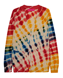 The Elder Statesman Illusion Heavy Cashmere Multicolor