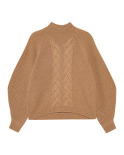 STEFFEN SCHRAUT Turtleneck Knit Toffee Beige