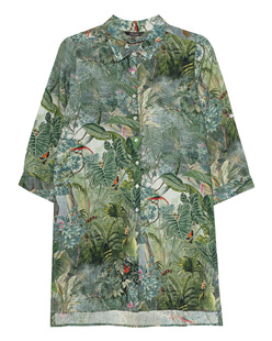 PRINCESS GOES HOLLYWOOD Jungle Allover Green Multicolor