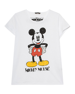 PRINCESS GOES HOLLYWOOD Mickey Mouse Rhinestone White