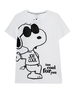 FROGBOX Snoopy Too Cool For You White
