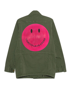 CAMOUFLAGE COUTURE STORK Smiley Military Pink Olive