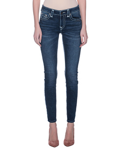 TRUE RELIGION Jennie Curvy Blue