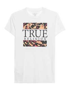 TRUE RELIGION Crystal Chain Shirt White