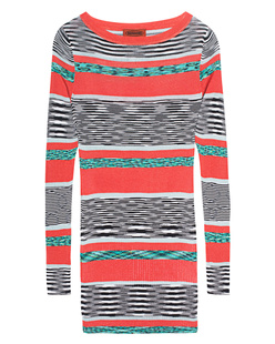 MISSONI Fine Knit Stripe Orange