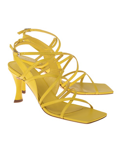 BY FAR Christina Leather Yellow