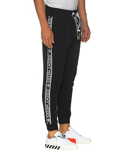 JEREMY MEEKS Side Logo Jogging Black