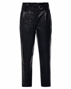 STEFFEN SCHRAUT Leather Paperbag Black
