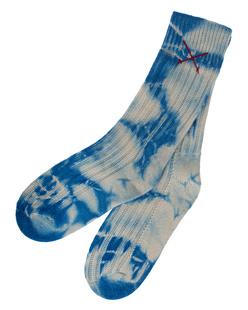 Mell-O Tie Dye Solid Azur Blue