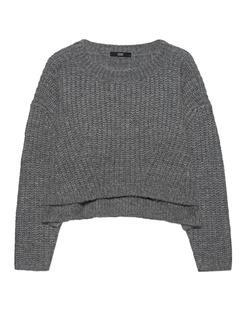 STEFFEN SCHRAUT Cropped Knit Cloudy Grey