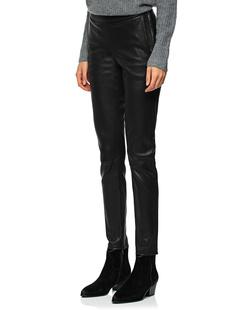 STEFFEN SCHRAUT Leather Zipper Black