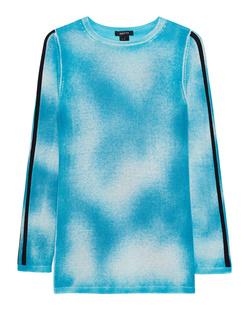 AVANT TOI Cashmere Stripe Turquoise